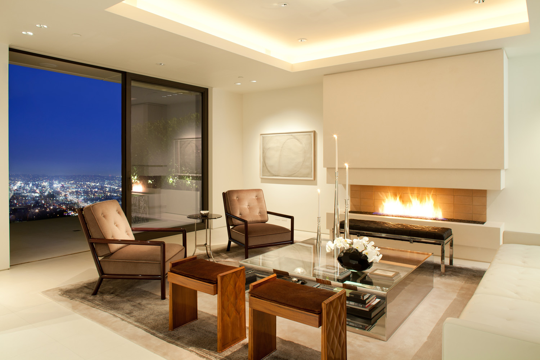 Magni kalman design california modern twenty first century for Living room 6250 hollywood blvd